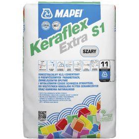 klej do płytek kamiennych marmur granit trawertyn łupek keraflex extra s1 mapei