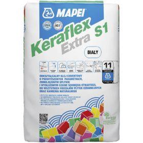 klej do płytek z kamienia naturalnego marmur granit łupek trawertyn  Mapei Keraflex Extra S1