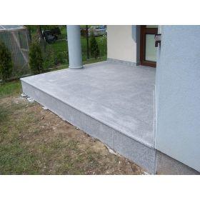 płytki kamienne granit płomieniowany g603 szary taras crystal grey