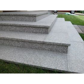 granit brąz królewski kamień płomieniowany schody