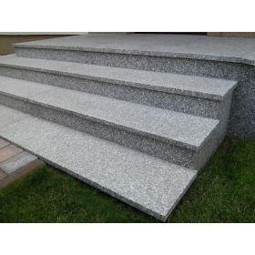 schody granitowe kamień naturalny brąz królewski