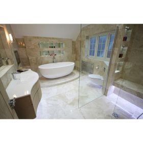 płytki marmurowe diana royal polerowane łazienka