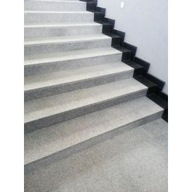 matowe stopnice granitowe kamienne g603 szare