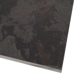 płytki kamienne na taras szlifowane czarne wapień 60x40x2