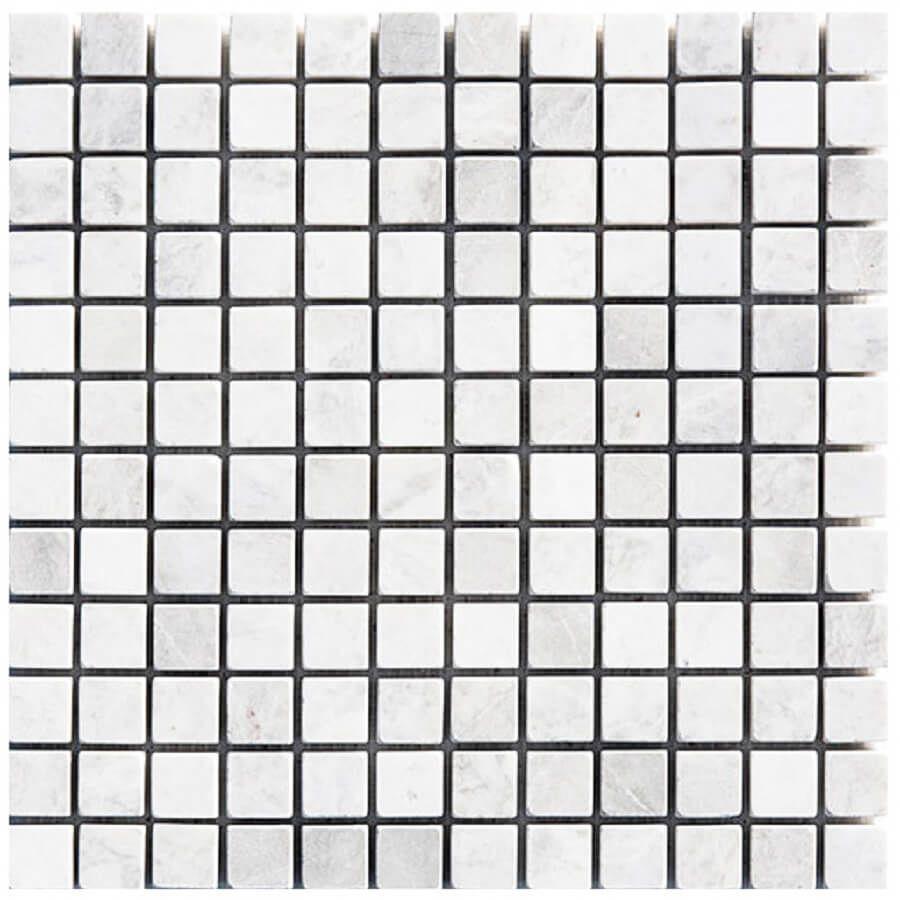 mozaika kamienna marmurowa naturalna Mugla Grey 30,5x30,5