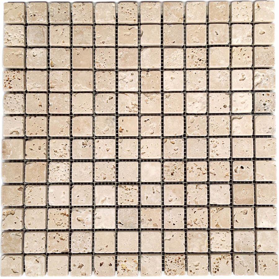 mozaika kamienna trawertynowa naturalna Classic 30,5x30,5