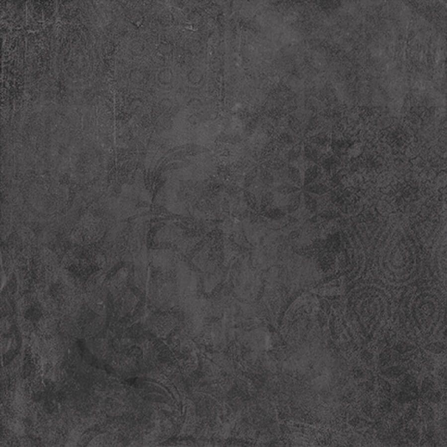 płytka podłogowa ceramiczna gresowa kuchnia łazienka Urban Anthracite Weave 60 x 60 x 0,8 cm