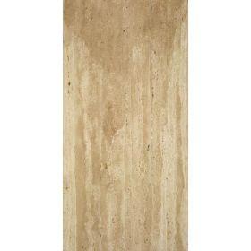 Płytki trawertyn kamienne naturalne podłogowe żywicowany Ivory Classic 60x30x1,5