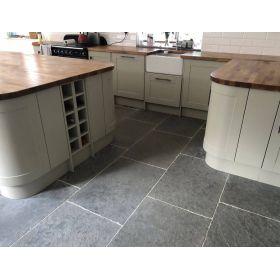 płytki kamienne wapień grey limestone 60x40
