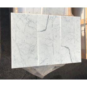 płytki marmurowe białe włoskie statuario 61x30,5x1 kamień polerowany