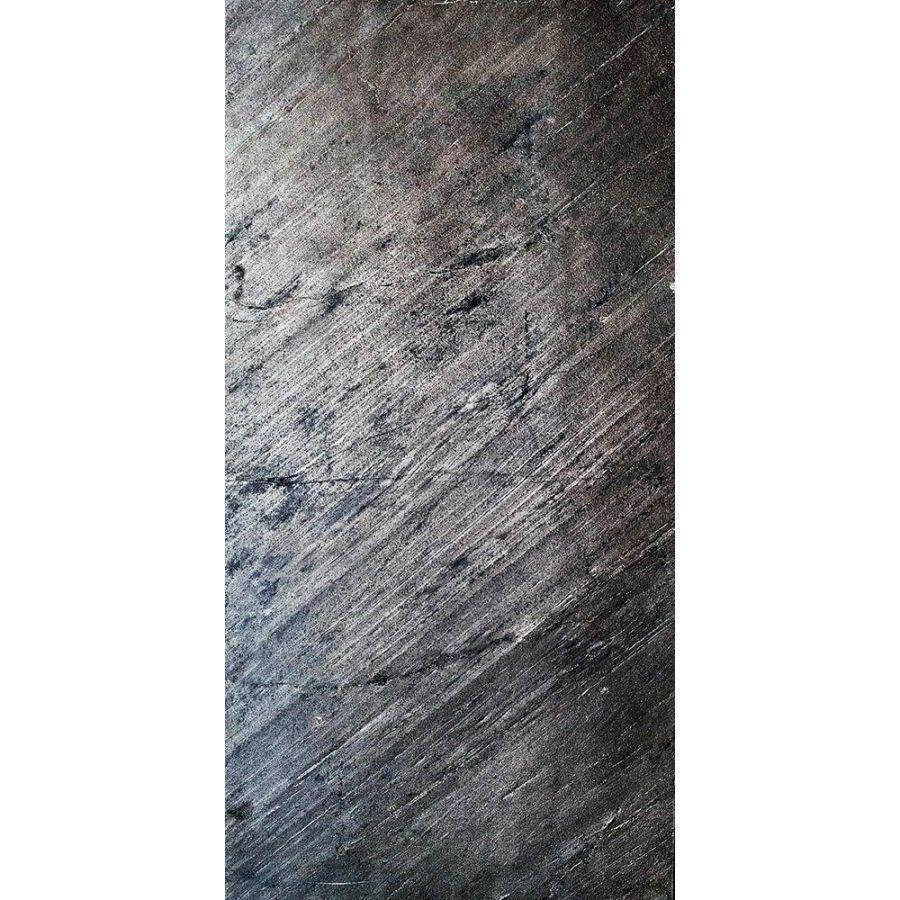 Łupek Fornir kamienny naturalny dekoracyjny elewacyjne Black 244x122