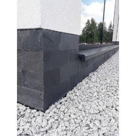 czarny łupek black 10x30 kamień naturalny