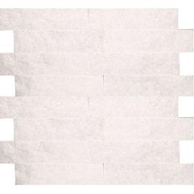 Kamień naturalny dekoracyjny elewacyjny ścienny panel kwarcyt white biały