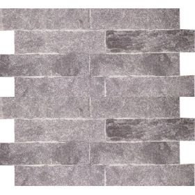 kamień dekoracyjny elewacyjny naturalny ścienny szary kwarcyt grey