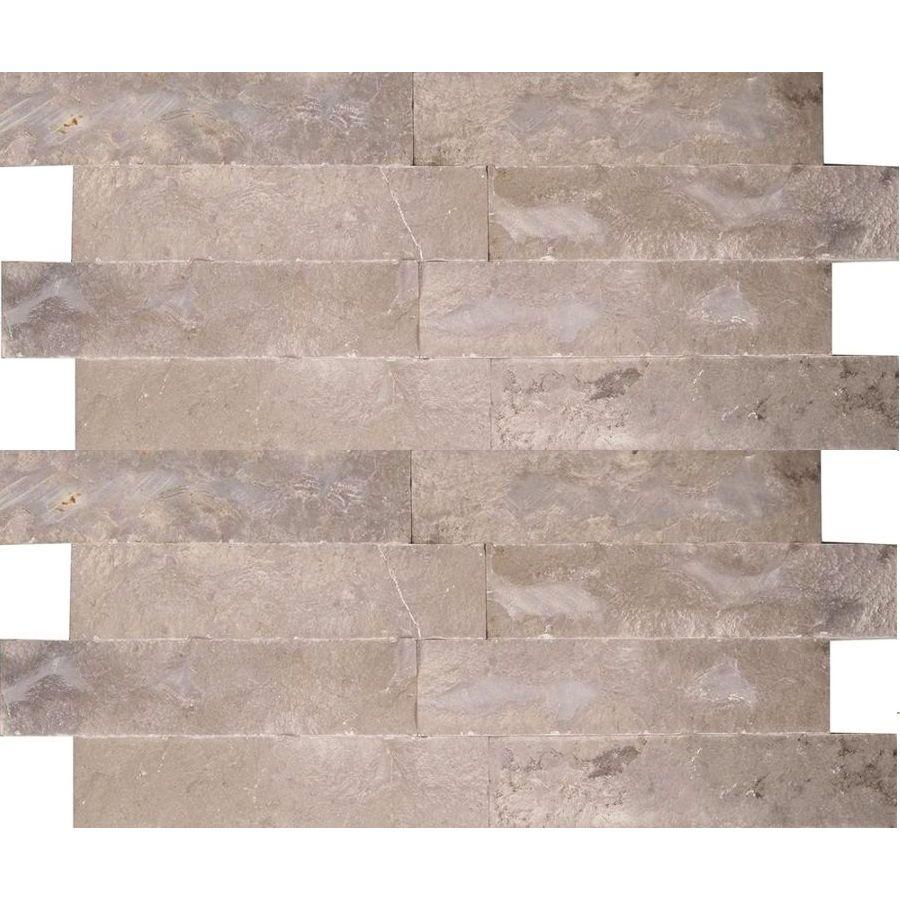 Kamień naturalny dekoracyjny elewacyjny ścienny panel marmurowy Melly Grey