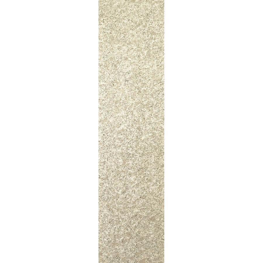 Stopnie schody granitowe kamienne naturalne zewnętrzne płomieniowane Crystal Pearl G383 150x33x3 cm