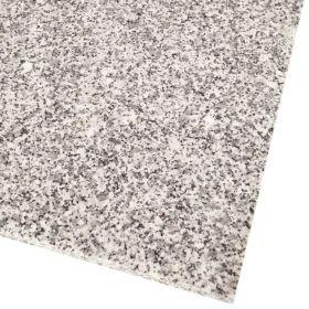 Płytki granitowe kamienne naturalne Bianco Crystal Grey 61x30,5x1 cm szlifowane