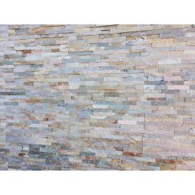 panel dekoracyjny ścienny elewacyjny kamień naturalny łupek beige ivory