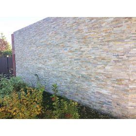 stackstone panel dekoracyjny ścienny elewacyjny kamień naturalny łupek beige ivory 10x36
