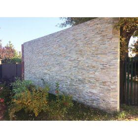 stackstone ścienny kamień naturalny łupek beige ivory 10x36