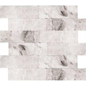 marmur szary cegiełki kamień