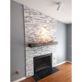 panel ścienny kamień dekoracyjny bianco grey naturalny biało szary elewacyjny