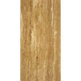 Płytki trawertyn kamienne naturalne podłogowe żywicowany Walnut Dark 60x30x1,5
