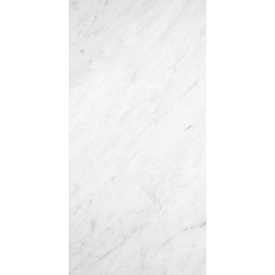 płytki marmurowe białe włoskie bianco carrara C 61x30,5x1 kamień