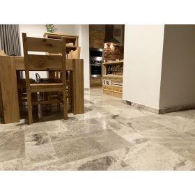 płytki ceramiczne Alchemy Light Grey łazienka kuchnia podłoga