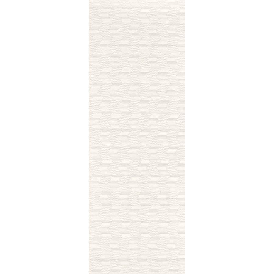 płytki ceramiczne ścienne glazura łazienka Pearl White Chevron