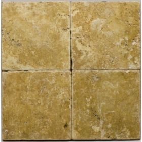 trawertyn golden sienna płytki kamienne