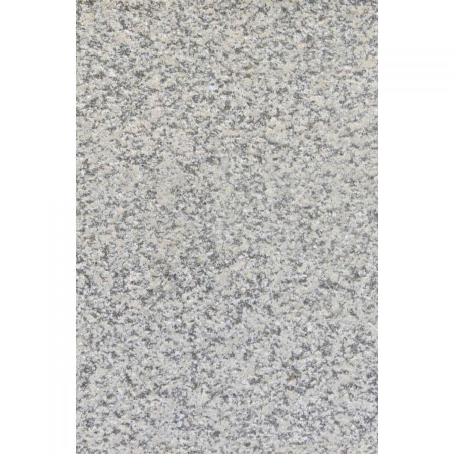 Płytki granitowe kamienne naturalne Bianco Sardo 60x40x2 cm płomieniowane