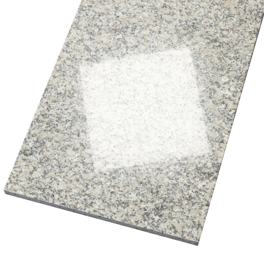 Płytki granitowe kamienne naturalne Bianco Sardo 60x60x2 cm polerowane