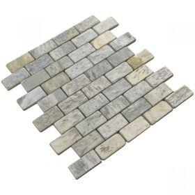 Silver Shine Brick mozaika kamienna ścienne