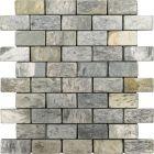 mozaika kamienna z łupka Silver Shine Brick
