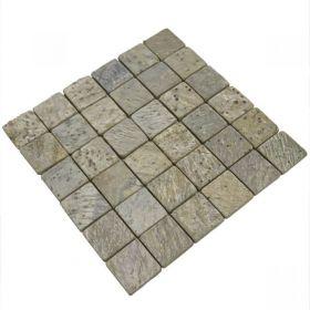 Metallic Green mozaika kamienna ścienne