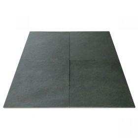 kamień naturalny wapień Chittor Black 60x60x2