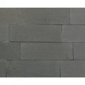 kamień elewacyjny ścienny Carbon Black 30x10