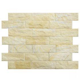 kamień naturalny żółty elewacyjny ścienny 10x30