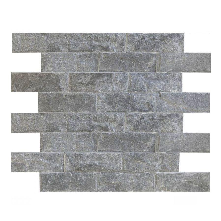 płytki marmurowe czarne elewacyjne ścienne crystal black 10x30