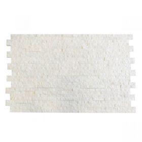 marmur White kamień  naturalny Ścienny Elewacyjny 10x36