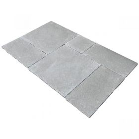wapień grey limestone kamień naturalny antykwoany