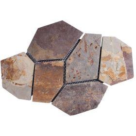 kamień naturalny łupek multicolor