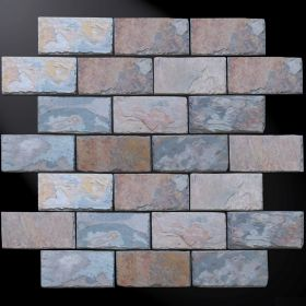 kamień łupek dekoracyjny multicolor