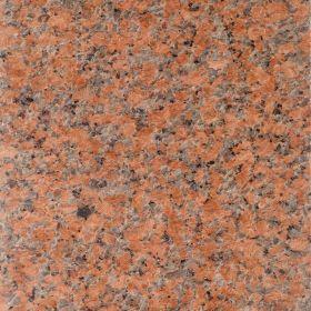 Płytki granitowe kamienne naturalne G562 Maple Red czerwony 60x60x1,5 cm polerowane