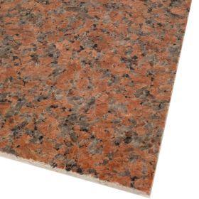 Płytki granitowe kamienne naturalne G562 Maple Red czerwony 60x60x1,5 cm poler