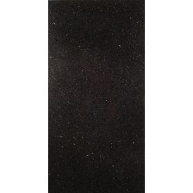 Płytki granitowe kamienne naturalne Black Star Galaxy  61x30,5x1 cm polerowane