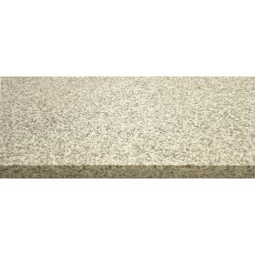 Stopnie schody granitowe kamienne naturalne zewnętrzne płomieniowane Bianco Crystal Grey 150x33x2 cm rant