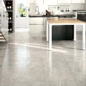 płytka podłogowa ceramiczna gresowa kuchenna łazienkowa Athena Grigio 75 x 75 x 1 cm