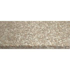 Stopnie schody granitowe kamienne naturalne zewnętrzne płomieniowane Brąz Królewski G664 150x33x3 cm trepy schodowe